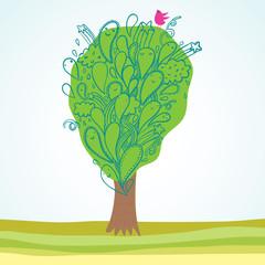 Summer tree design