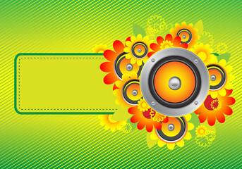 flowers_speakers yellow