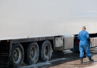 Hochdruckreinigung LKW