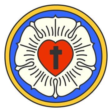 Lutheran Rose Emblem