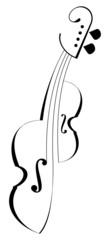 Tattoo violin