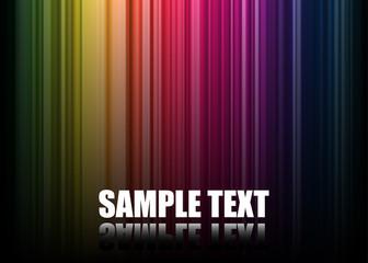 Vector Rainbow Spectrum Background