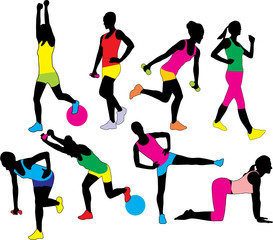 Wall Mural - FITNESS