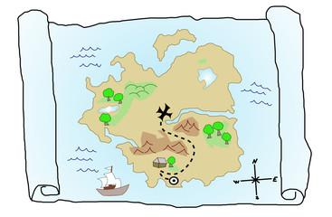 Treasue Map