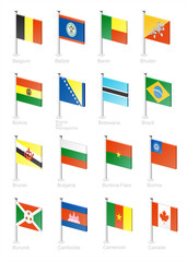 Flag icon set (part 2)
