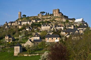 Turenne (Corrèze) - Vue générale