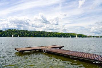 Pier at the lake
