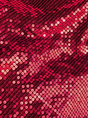 sequined shimmering textile closeup