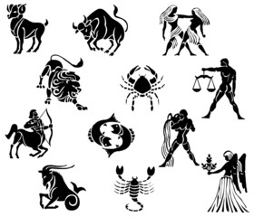 zodiacal signs.