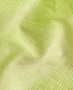 Checkered textile closeup.