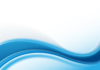 blue abstract dynamic background