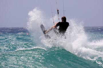 Crash the wave