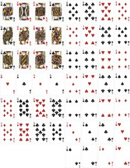 complete poker cards