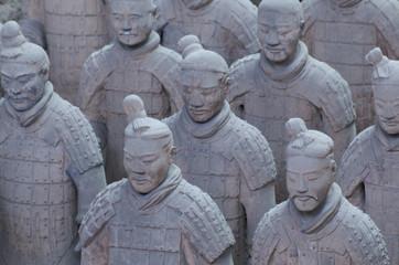 Keuken foto achterwand Xian The Terracotta Army in Xian