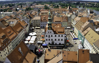 Stadtfest Pirna auf dem Markt