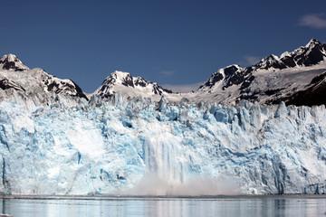 Melting glacier, Alaska