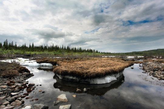 Permafrost, Alaska