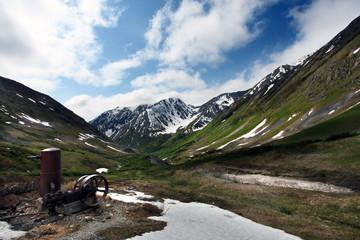 Alaska Gold Mining era