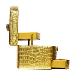 beautiful safe box with padlock