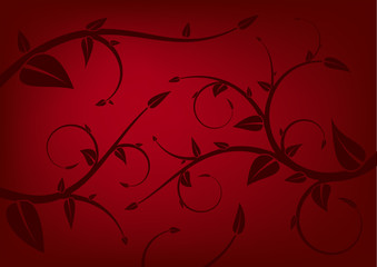 background with leafs