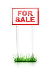 Artwork For Real Estate  - Sign For Sale