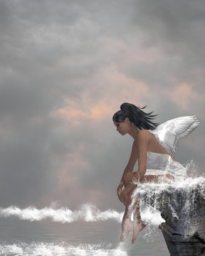 Angel On Water