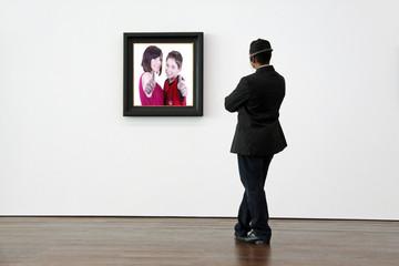 Museumsbesucher