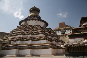 Gyantse Kumbum (100,000 Images Stupa) in Tibet