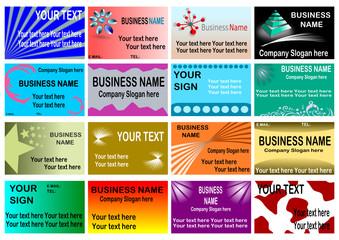Big Business Card Set # 4