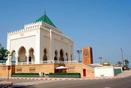 Mausoleum of V. Mohamed, Rabat, Morocco