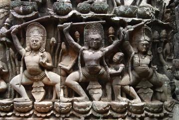 Fresque, Angkor Vat
