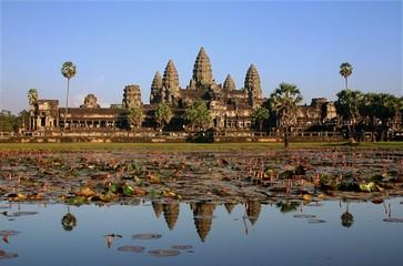 Cambodge - Angkor - Temple d'Ankor Wat