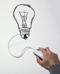 ampoule électricité internet