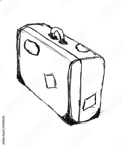Illustration valise voyage photo libre de droits sur la - Dessin de valise ...