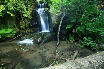 La Cascata di Monte Gelato.