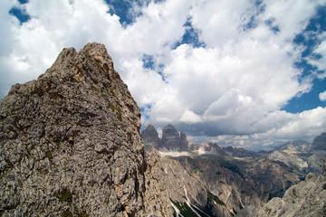 Berge in den südtiroler Alpen