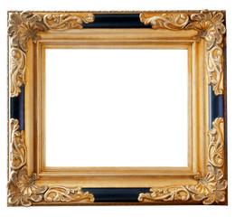 Schwarz Gold Rahmen