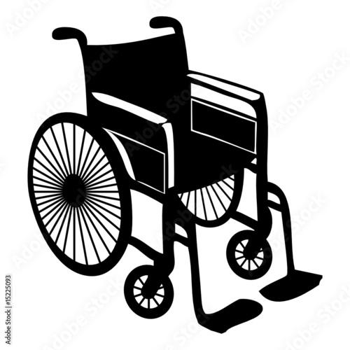 Fauteuil roulant wheelchair fichier vectoriel libre de for Achat chaise roulante