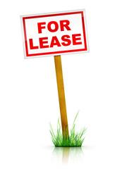 Artwork For Real Estate  - Sign For Lease