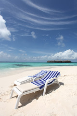 Strandliegen - Malediven - Deck chairs - Maldives