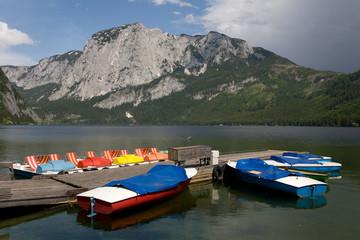 Foto op Canvas Canada Altausseer See im Steirischen Salzkammergut
