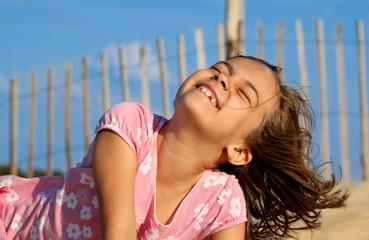 rire de bonheur