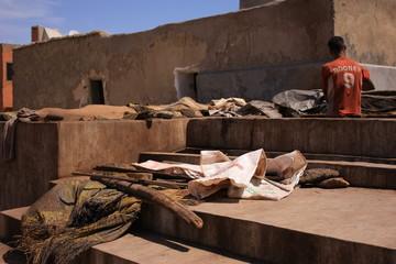 Scène de vie marocaine