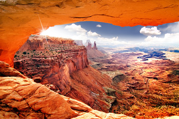 Wall Murals Drought Heavenly view of world