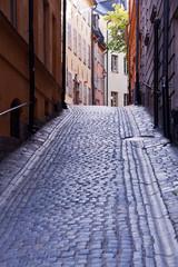 Alte Gasse in Stockholm