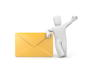 Letter delivered