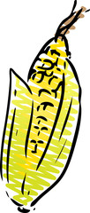 Corn illustration