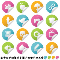 icon sticker set 2