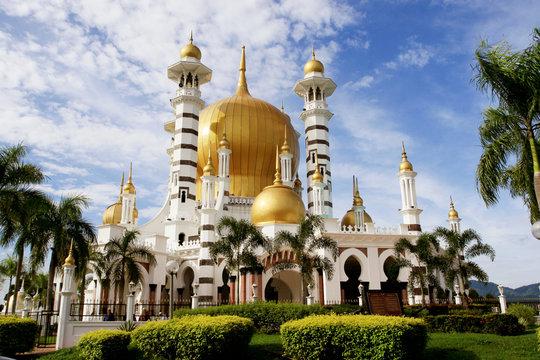 mosque ubudiah, perak, malaysia