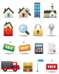 Real Estate Icon Set -- Premium Series